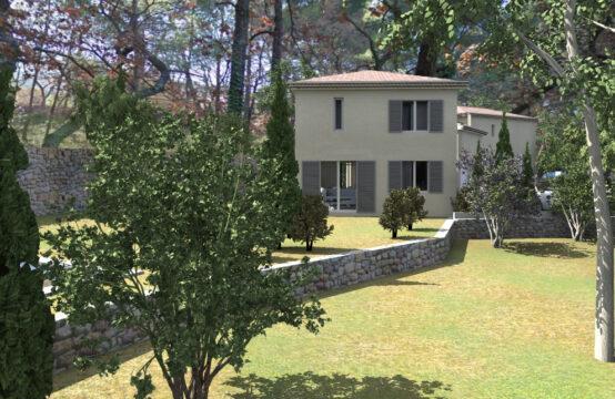 Terrain de 3200 m² pour deux villas