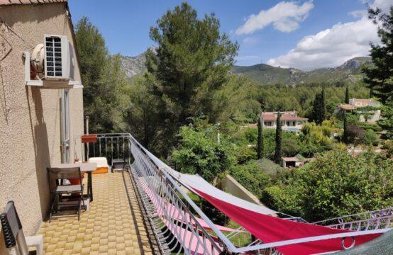 Haut de villa T3 de 60 m² avec terrasse