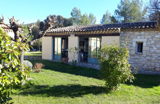 """Bergerie"" en pierres de 48 m² avec jardin"