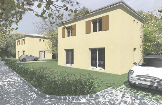 Projet Villa T4 94 m² sur terrain de 346 m²