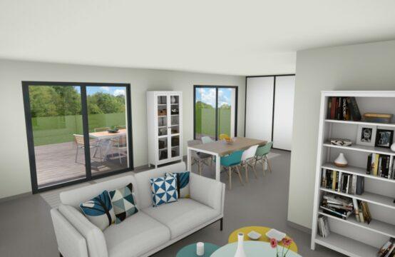 Villa contemporaine T4 neuve de 97 m²