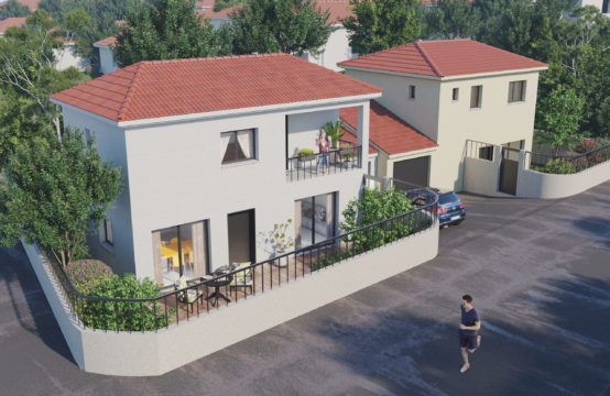 Terrain pour villa contemporaine T4