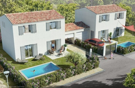 Villa contemporaine T4/5 de 90 m²