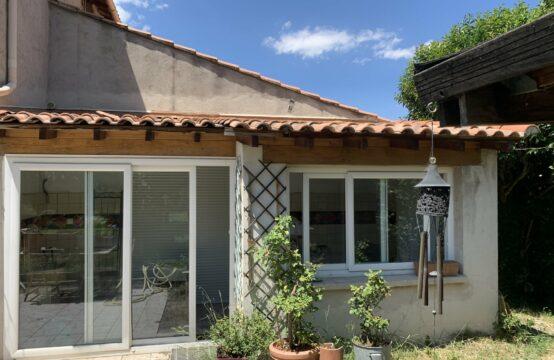 Maison T2/3 de 53 m² avec jardin