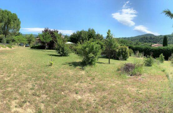 Terrain 1125 m² avec vue pour villa T4/5
